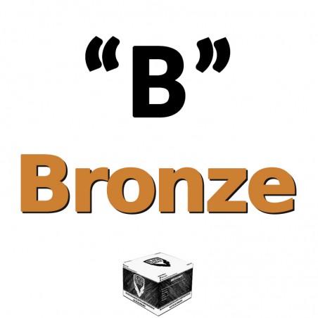 Le Lot de 4 Cartons de 2000 billes Paintball C68 Bronze