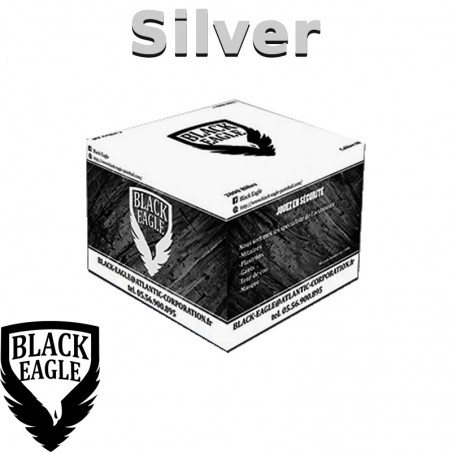 Carton de 2000 billes Paintball C68 BE Silver
